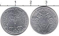 Изображение Монеты Ватикан 2 лиры 1975 Алюминий UNC