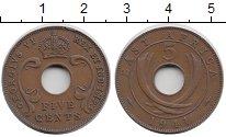 Изображение Монеты Восточная Африка 5 центов 1941 Бронза XF-