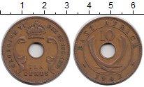 Изображение Монеты Восточная Африка 10 центов 1942 Бронза XF-