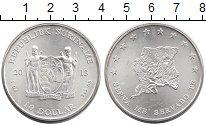 Изображение Монеты Суринам 10 долларов 2013 Серебро UNC-