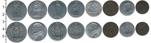 Изображение Наборы монет Ватикан Ватикан 1931 г, 1931  XF В наборе 8 монет ном