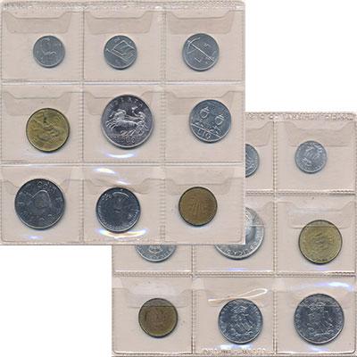 Изображение Наборы монет Сан-Марино Сан-Марино 1979 1979  UNC Набор состоит из 9 м