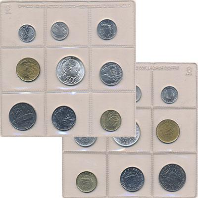 Изображение Наборы монет Сан-Марино Сан-Марино 1981 1981  UNC Набор состоит из 9 м