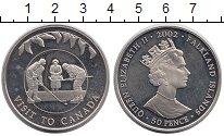 Изображение Монеты Великобритания Фолклендские острова 50 пенсов 2002 Медно-никель UNC