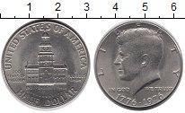 Изображение Монеты США 1/2 доллара 1976 Медно-никель XF+