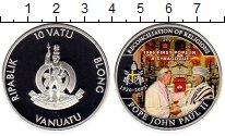 Изображение Монеты Вануату 10 вату 2011 Посеребрение Proof