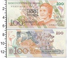 Изображение Банкноты Бразилия 100 крузейро 0  UNC-