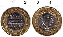 Изображение Монеты Бахрейн 100 филс 2011 Биметалл UNC-