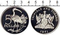 Изображение Монеты Тринидад и Тобаго 5 долларов 1971 Серебро Proof