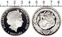 Монета Австралия 5 долларов Серебро 2000 Proof фото