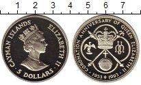 Изображение Монеты Великобритания Каймановы острова 5 долларов 1993 Серебро Proof