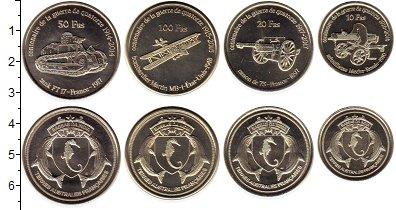 Изображение Наборы монет Антарктика - Французские территории Без названия 2018 Медно-никель UNC Остров Бассас да Инд