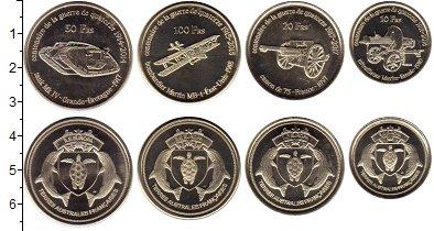Изображение Наборы монет Франция Антарктика - Французские территории Без названия 2018 Медно-никель UNC