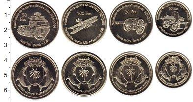 Изображение Наборы монет Антарктика - Французские территории Без названия 2018 Медно-никель UNC Острова Глорьёз. 4 м