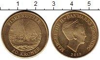 Изображение Монеты Дания 20 крон 2012 Латунь UNC