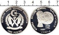Изображение Монеты Сахара 1000 песет 1997 Серебро Proof