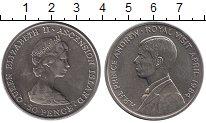Изображение Монеты Великобритания Остров Вознесения 50 пенсов 1984 Медно-никель UNC-