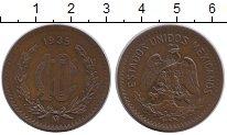 Изображение Монеты Мексика 10 сентаво 1935 Бронза XF+