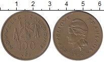 Изображение Монеты Франция Новая Каледония 100 франков 1976 Латунь XF