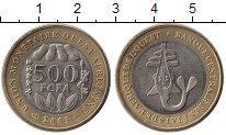 Изображение Монеты Западная Африка 500 франков 2003 Биметалл UNC-