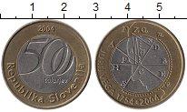 Изображение Монеты Словения 500 толаров 2004 Биметалл UNC-