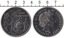 Изображение Монеты Великобритания Гернси 5 фунтов 1997 Медно-никель XF