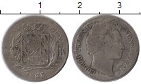 Изображение Монеты Германия Бавария 3 крейцеров 1835 Серебро VF