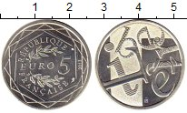 Изображение Монеты Франция 5 евро 2013 Серебро UNC-