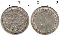 Изображение Монеты Нидерланды 10 центов 1919 Серебро XF