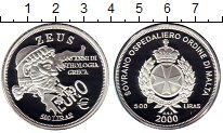 Изображение Монеты Мальтийский орден 500 лир 2000 Серебро Proof