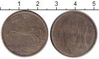 Изображение Монеты Норвегия 1 крона 1968 Медно-никель VF-
