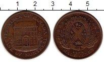 Изображение Монеты Канада 1/2 пенни 1842 Медь XF