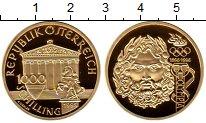 Изображение Монеты Австрия 1000 шиллингов 1995 Золото Proof