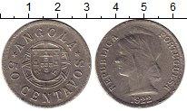 Изображение Монеты Ангола 50 сентаво 1922 Медно-никель VF