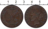 Изображение Монеты Либерия 2 цента 1906 Бронза VF