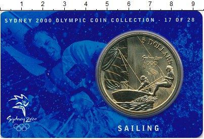 Изображение Мелочь Австралия 5 долларов 2000 Латунь UNC