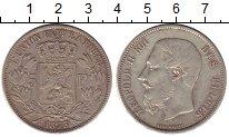 Изображение Монеты Бельгия 5 франков 1873 Серебро XF-