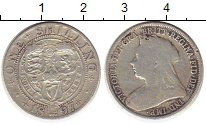 Изображение Монеты Великобритания 1 шиллинг 1897 Серебро VF