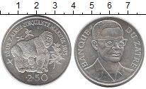 Изображение Монеты Конго Заир 2 1/2 заира 1975 Серебро UNC-