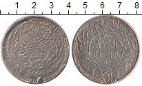 Изображение Монеты Йемен 1 риал 1925 Серебро VF