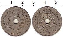 Изображение Монеты Родезия 1 пенни 1939 Медно-никель XF
