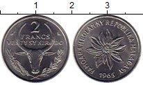 Изображение Монеты Мадагаскар 2 франка 1965 Сталь UNC-