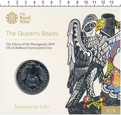 Изображение Подарочные монеты Великобритания 5 фунтов 2019 Медно-никель UNC 4-я монета из серии