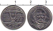 Монета Ватикан 50 лир Медно-никель 1993 UNC фото