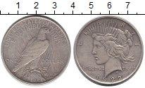 Изображение Монеты США 1 доллар 1922 Серебро VF