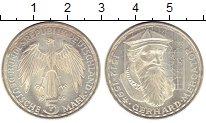 Изображение Монеты Германия ФРГ 5 марок 1969 Серебро XF