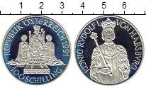 Изображение Монеты Австрия 100 шиллингов 1991 Серебро Proof-