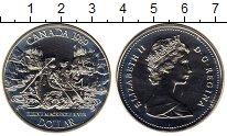 Изображение Монеты Канада 1 доллар 1989 Серебро UNC-
