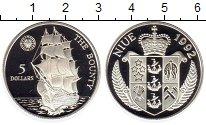 Изображение Монеты Новая Зеландия Ниуэ 5 долларов 1992 Серебро Proof