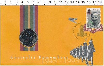 Изображение Монеты Австралия 50 центов 1995 Медно-никель UNC Данлоп.